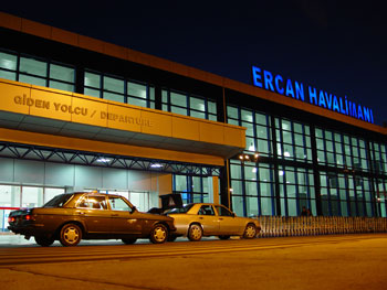 Ercan Airport Cyprus